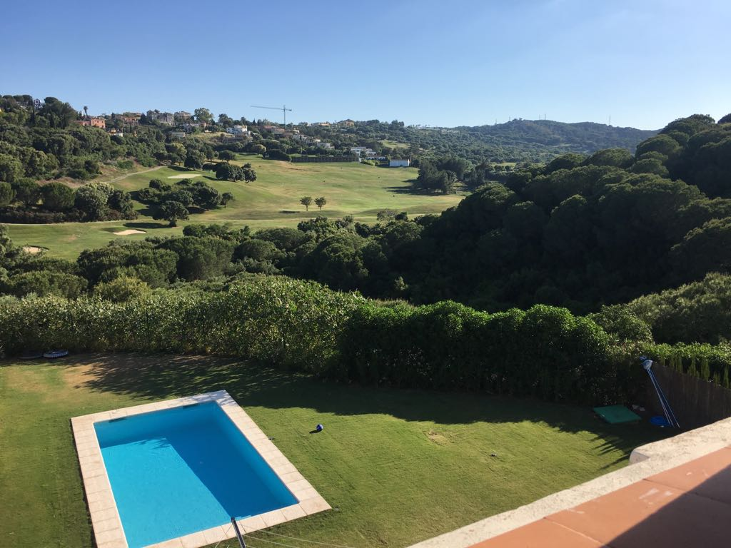 Beautiful semidetached villa in Sotogrande alto